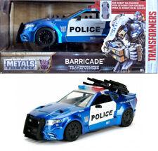 Transformers Barricade Blue Police Polizei 1:24 Jada Toys 98400