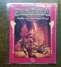 Salas de el gran rey-Reinos Olvidados AD&D Dungeons Dragons Gaceta RPG TSR