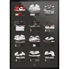 Air Jordan 1-12 - Poster, Yellow Ochre, Concord, chlorophylle, not for sale
