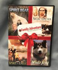 Family Adventure Collector Set Spirit Bear, Sign Otter, Spirit Eagle, White Fang