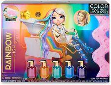 Rainbow High Salon Playset with Rainbow of DIY Washable Hair Color Foam - New!