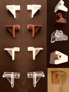 PLASTIC SHELF SUPPORTS PLUG PEGS PINS STUD BOOKCASE 6mm KITCHEN CUPBOARD CABINET