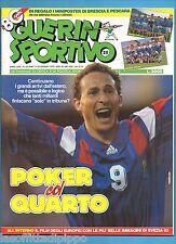GUERIN SPORTIVO-1992 n.25- PAPIN-ZENGA-DUNGA - NO INSERTO EURO -NO POSTER