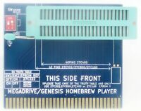 SEGA Genesis Homebrew player ZIF eprom to cartridge adapter test your games roms