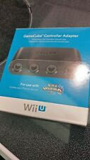 1x AUTHENTIC Nintendo GameCube Controller Adapter (for Wii U/Switch) - BRAND NEW