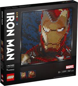 LEGO Art Avengers Marvel Studios Iron Man 31199 LEGO