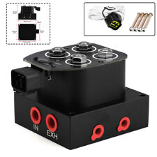 1 Set Solenoid Valve Air Ride Suspension Manifold Valve Block Car Truck Vehicle