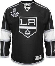 LA Kings Richards 2014 Stanley Cup Finals Game Home Jersey NHL Reebok Sz XL C63