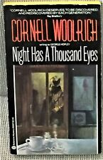 Cornell Woolrich, George Hopley / NIGHT HAS A THOUSAND EYES First Edition 1983