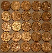 25 Ancient Widows Widow's Mite Mites on Modern Israel Israeli 5 Agorot Coins LOT