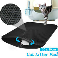 Double-Layer EVA Waterproof Cat Litter Box Mat Trapper Pet Pad Foam Rubber Rug U