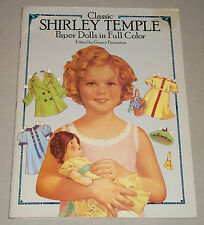 Dover/Piedmontesi 1986 Reproduction Shirley Temple Paper Dolls Pre-Owned (14207)