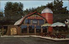 N. Smithfield Woonsocket Ri The Beef Barn Postcard