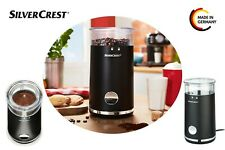 Silvercrest® Whole Coffee Bean Grinder 150w High Quality Stainless Steel Blade!!