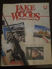 Lake of the Woods Ontario Canada 1994 Fishing Vacation Visitor Guide AS