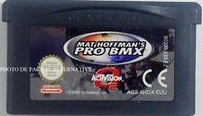 jeu MAT HOFFMAN'S PRO BMX sur nintendo game boy advance spiel juego sport velo