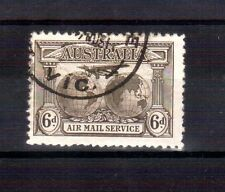 AUSTRALIA 1931 Airmail 6d Kingsford used