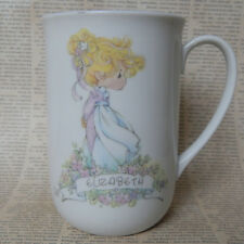 Precious Moments Elizabeth Coffee Tea Mug Cup Vintage 1989 4.25""