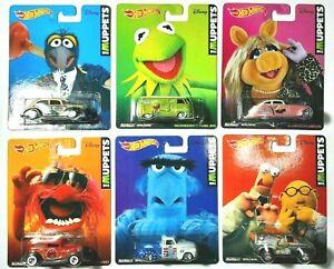 1/64 Hot Wheels Muppet set of 6