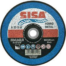 DISCHI CD SBAVATURA FERRO MISURA 115X6,4X22 SISA VIT16255