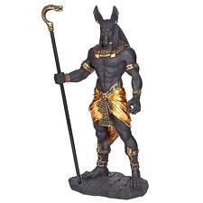 "New listing Wu76642 - Anubis, Jackal God of the Egyptian Underworld Statue - 10"" Tall"