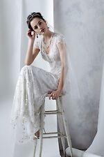 Ranna Gill Mira Gown Wedding Dress Anthropologie - Size 6