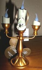 Disney Parks Ornament Beauty and the Beast Lumiere Light Up NWT