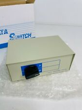 More details for 2-port parallel data transfer switch - vintage - mint condition - amiga / pc etc