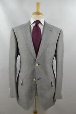 Pal Zileri Concept Linen & Cotton Sport Coat Navy Houndstooth 44