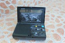 Sony ICF-C1000 Clock Portable pocket Radio FM/AM World Time