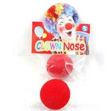 Cute Red Sponge Ball Clown Magic Nose Halloween Funny Costume Masque Party Decor