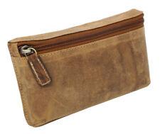 Leder Vintage Gürteltasche Hüfttasche Handytasche Bikertasche Hunterleder braun