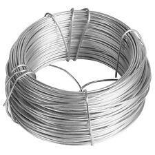 164' 17 Gauge Solid Galvanized Steel Garden Fence Wire Coil