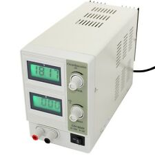 Adjustable DC Regulated Linear Bench Power Supply 0-18V 0-2A