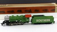 Tyco Southern 0-8-0 Steam Locomotive w/Tender #27 HO Scale For Repair