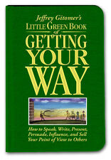 Jeffrey Gitomer's Little Green Book of Getting Your Way-Case of 36 Books*Signed*