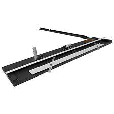 """US Art Supply 40"""" Artist Bevel and Straight Cut Board Mounted Mat Cutter Set"""