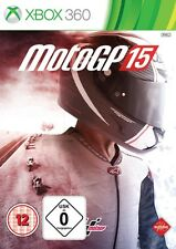 Xbox 360 MotoGP 15 Moto GP 2015 Motorcycle Race NIP Package Shipping