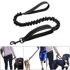 7396466ef81d Dual Handle Bungee Dog Leash Reflective No Pull Elastic Stretch Traffic  Leads