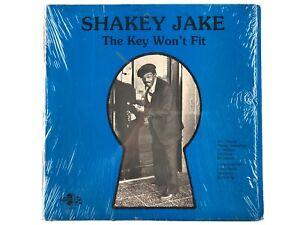 SHAKEY JAKE THE KEY WON'T FIT 1983 FIRST PRESS MURRAY VINYL RECORD BLUES RARE