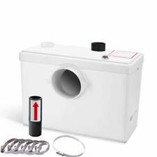 MGidea 600W Trituratore Maceratore Lame per WC Sanitario Lavandino Doccia - 240L, Bianco