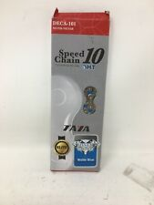 Taya 10 Speed Bicycle Chain, Water Blue, (Deca-101)