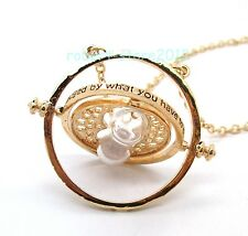 New  Harry Potter Rotating Hermione Time-Turner Necklace Pendant Hot  Sell