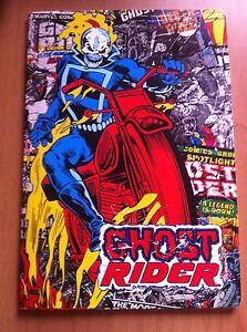GHOST RIDER MAXI QUADERNO a QUADRETTI senza MARGINI (1^media in poi) MARVEL