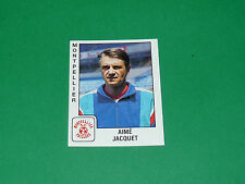 PANINI FOOTBALL FOOT 90 N°190 AIME JACQUET SC MONTPELLIER PAILLADE 1989-1990