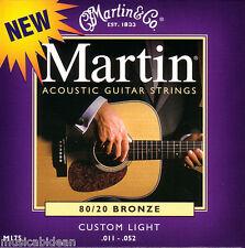 Juego de cuerdas guitarra acustica Martin Guitars M175
