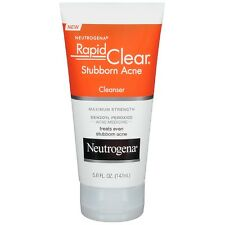 Neutrogena Rapid Clear Stubborn Acne Cleanser 5 oz