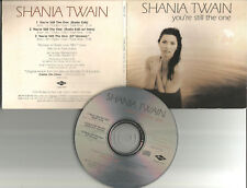 SHANIA TWAIN You're Still The One 3TRX RARE EDITS PROMO CD single PRINTED LYRICS