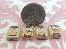 Dollhouse Miniature Camel Cigarette Decor 4 pcs 1:12