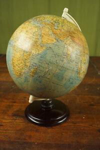 30er Vintage Globe Desktop Globe Old & Antique Bakelite 40er